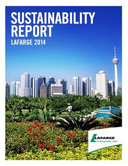 Lafarge Sustainability Report 2014